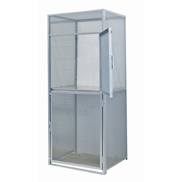 2 Tier 1 Wide Commercial Locker by Hallowell