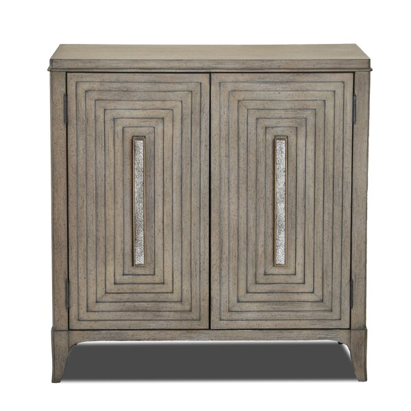 Threadgill 2 Door Accent Cabinet by Bungalow Rose Bungalow Rose