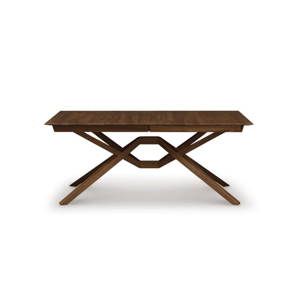 Best Choices Exeter Single Leaf Extendable Dining Table By Copeland Furniture Savings