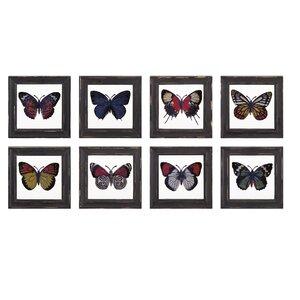Flutter 8 Piece on Wood Set (Set of 8) by Birch Lane™