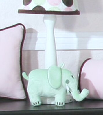 Minky Dot 15 Table Lamp Base by Brandee Danielle