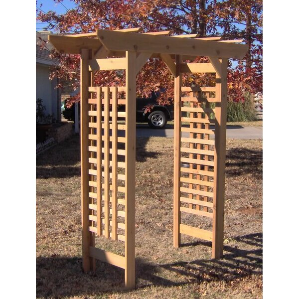 Classic Wood Arbor by Threeman Products