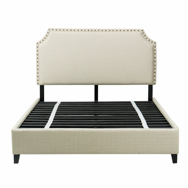 Faucette Upholstered Platform Bed by Charlton Home