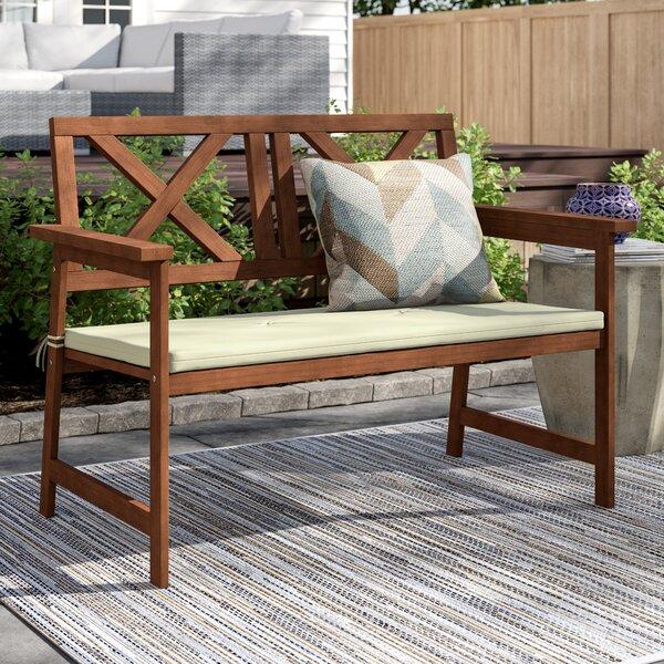 Arianna Wooden Garden Bench by Langley Street™