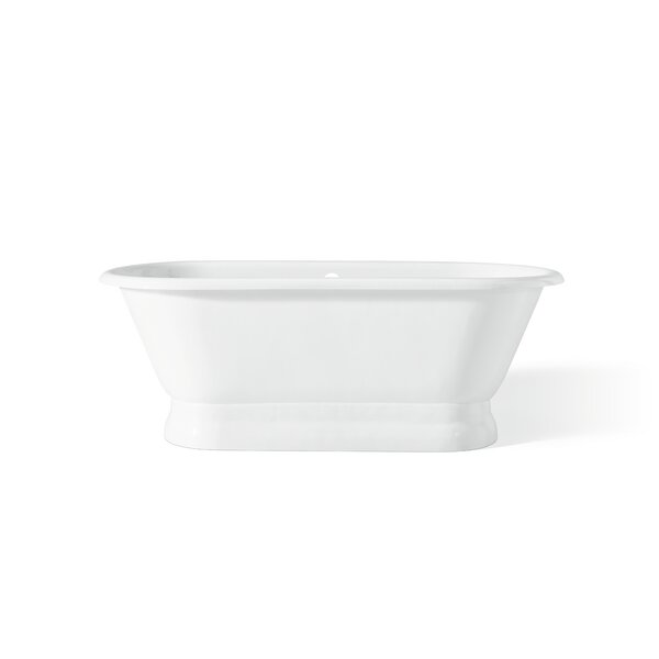 Carlton 70 x 32 Soaking Bathtub with Continuous Rolled Rim by Cheviot Products