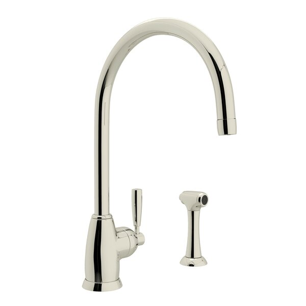 Holborn Single Handle Kitchen Faucet With Side Spray By Perrin & Rowe