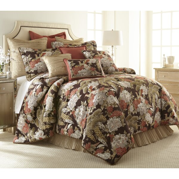 Paradise Peacock Comforter Set by Austin Horn Classics