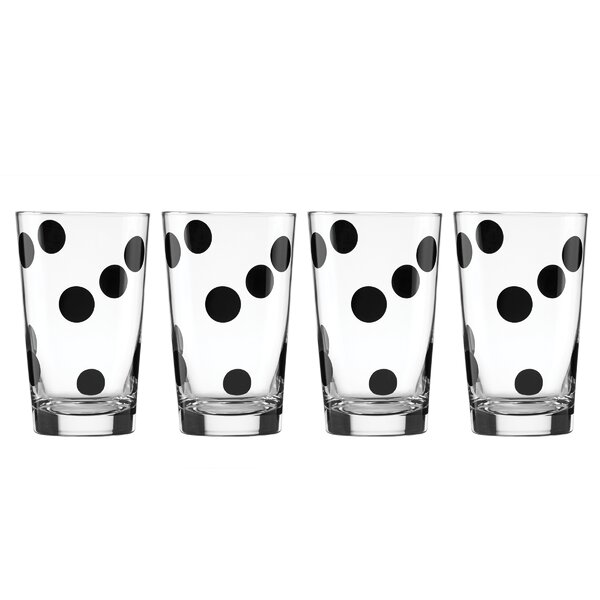 All in Good Taste 4 Piece Deco Dot All Purpose Beverage Set by kate spade new york