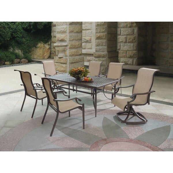 Jonas Swivel Patio Dining Chair (Set of 2) by Wildon Home ®