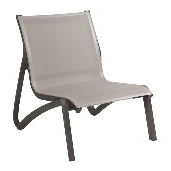 Sunset Armless Lounge Chair (Set of 4) by Grosfillex Expert