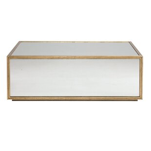 Mirrored Coffee Tables Youll Love Wayfair - Mirrored coffee table with storage