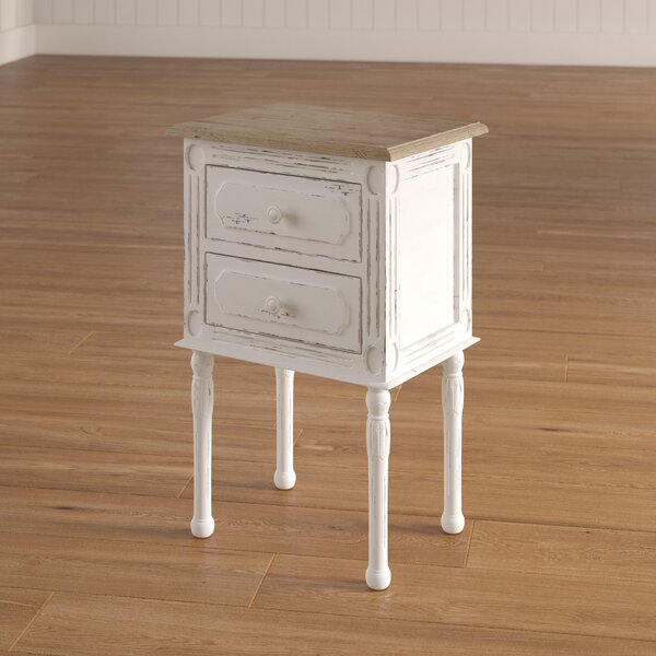 Kolya 2 Drawer Nightstand by Laurel Foundry Modern Farmhouse