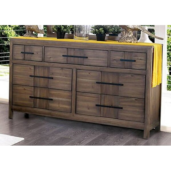 Sanroman 7 Drawer Double Dresser by Red Barrel Studio