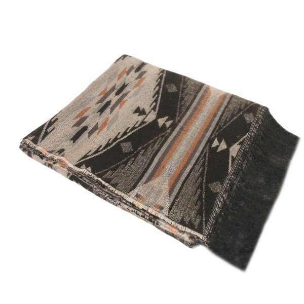 Steinber Tribal Infatuation Woven Throw by Millwood Pines