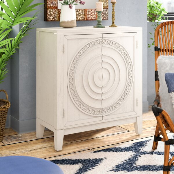 Burleigh 2 Door Accent Cabinet by Bungalow Rose Bungalow Rose