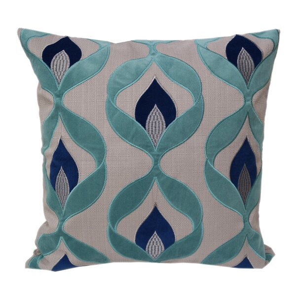 Ulani Embroidered Throw Pillow by Bloomsbury Market