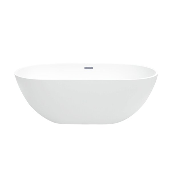 Barnet 61 x 30 Freestanding Soaking Bathtub by Maykke