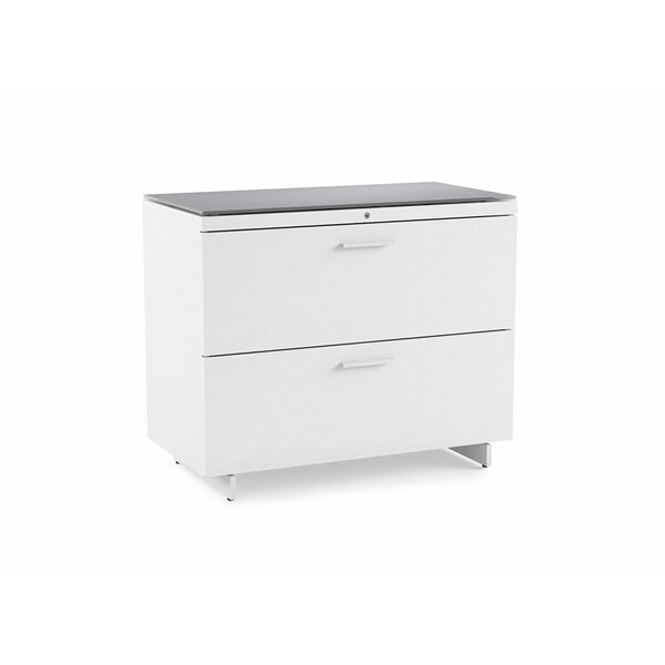 Centro 2-Drawer Lateral File Cabinet by BDI