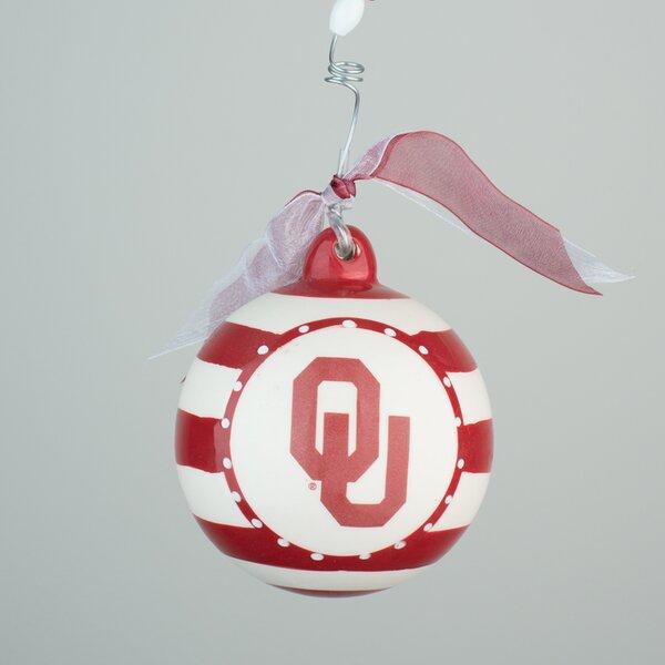 Oklahoma Stripe Ball Ornament by Glory Haus
