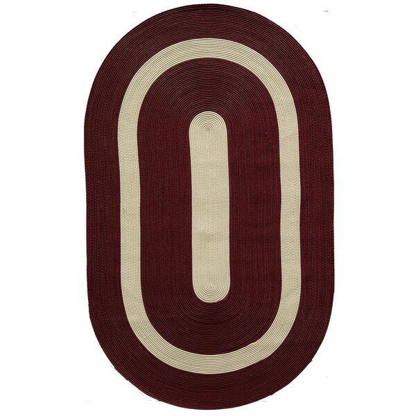 Plymouth Burgundy Area Rug by Rugs America