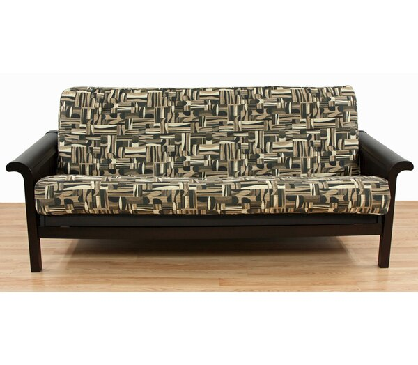 Geometric Box Cushion Futon Slipcover by Easy Fit