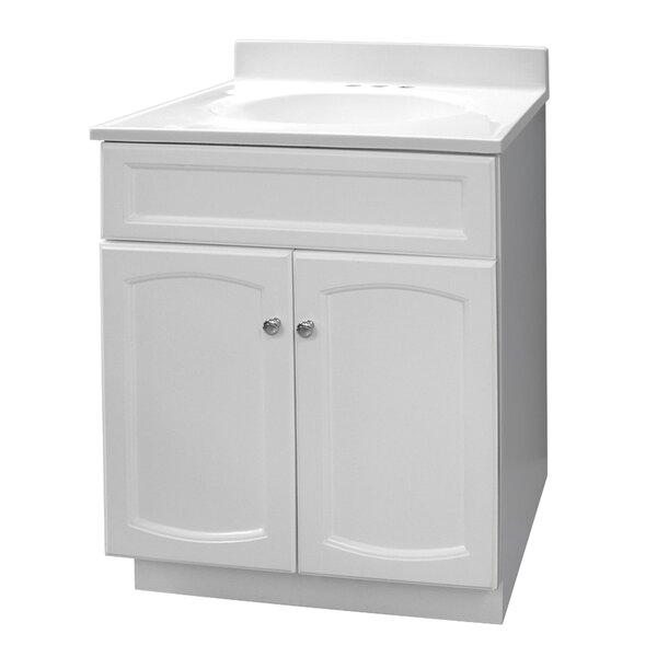 25 Single Bathroom Vanity Set by Hazelwood Home
