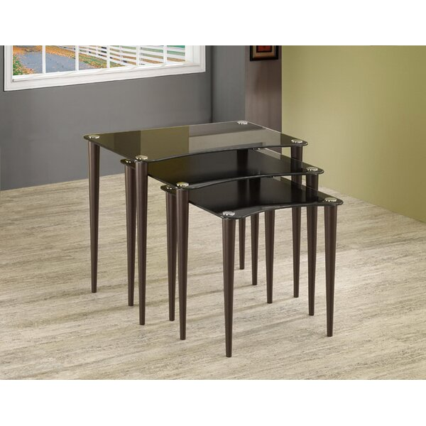 Espinoza 3 Piece Nesting Table by Orren Ellis