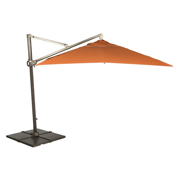 Rib Cantilever Umbrella by Woodard Woodard