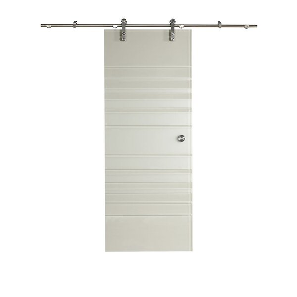 New Vision Silhouette Glass Interior Barn Door by LTL Barn Doors