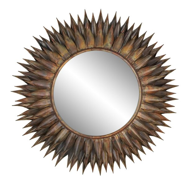 Heier Eclectic Spiked Accent Mirror by World Menagerie