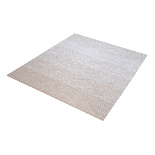 Palm Bay Handmade Beige/White Area Rug by Langley Street