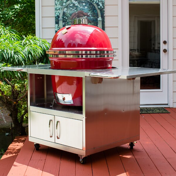 Stainless Steel Cart by Grill Dome