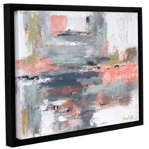 Snow Drift Framed Painting Print by Wrought Studio