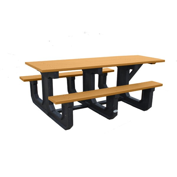 Park Place Recycled Plastic Picnic Table by Frog Furnishings