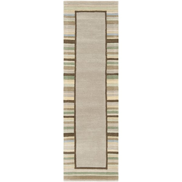 Hand-Woven Tadpole Green Area Rug by Martha Stewart Rugs