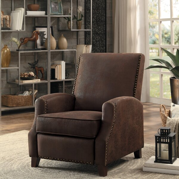 Falnaglass Push Back Manual Recliner by Gracie Oaks