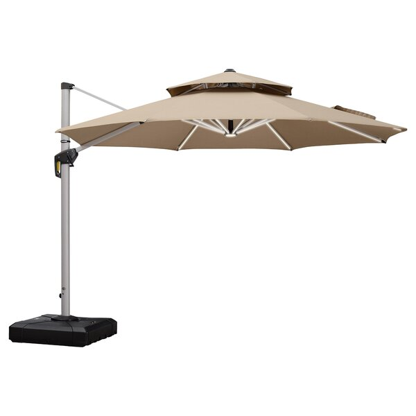Cotter 11' Cantilever Umbrella By Charlton Home by Charlton Home Design