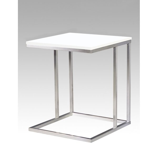 Oriana End Table by Orren Ellis