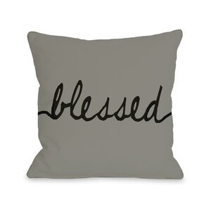 Blessed Mix and Match Throw Pillow