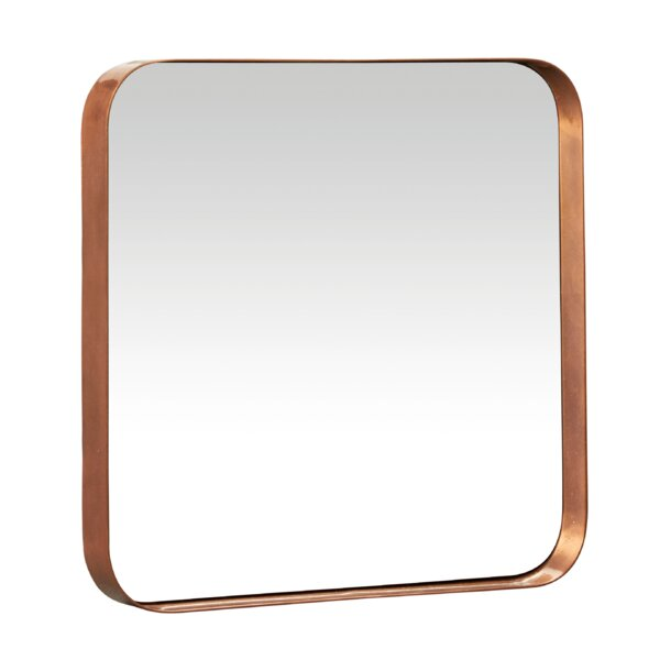 Metal and Glass Beacon Wall Mirror by BIDKhome