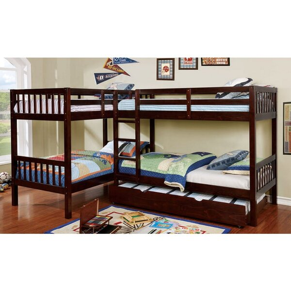 Kaminski Marquette Twin Bunk Bed by Harriet Bee