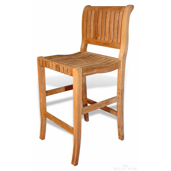 28 Teak Patio Bar Stool by Regal Teak