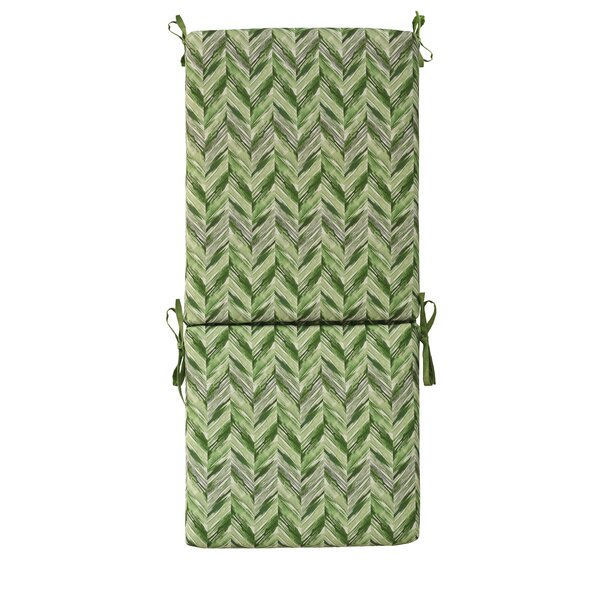 High Back Indoor/Outdoor Dining Chair Cushion by Bay Isle Home