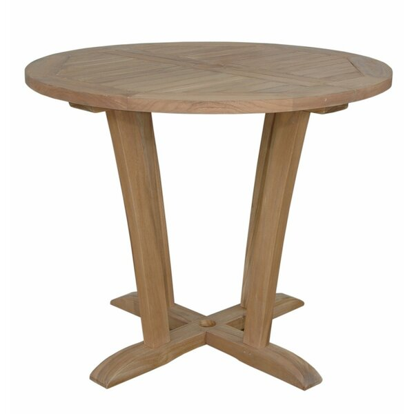 Descanso Teak Bistro Table by Anderson Teak