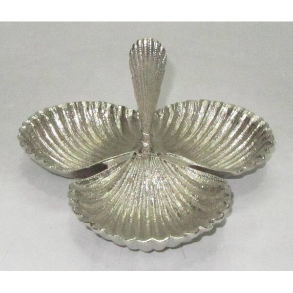 Gregoire Shell Triple Divided Serving Dish by Highland Dunes