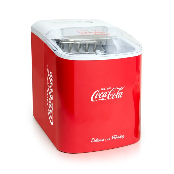 Coca-Cola 24 lb. Portable Ice Maker by Nostalgia