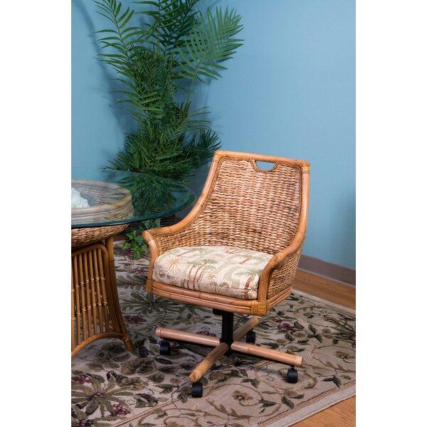 Brisa Tilt Swivel Caster Dining Chair by Bayou Breeze
