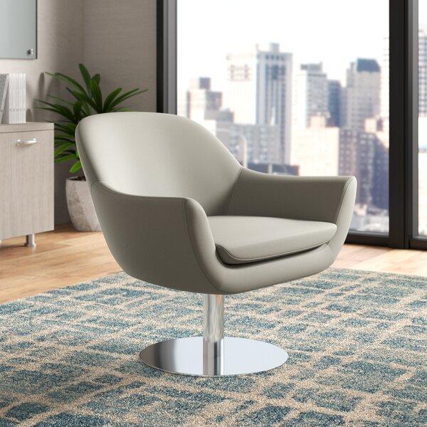 Tiyrene Swivel Armchair by Upper Square™