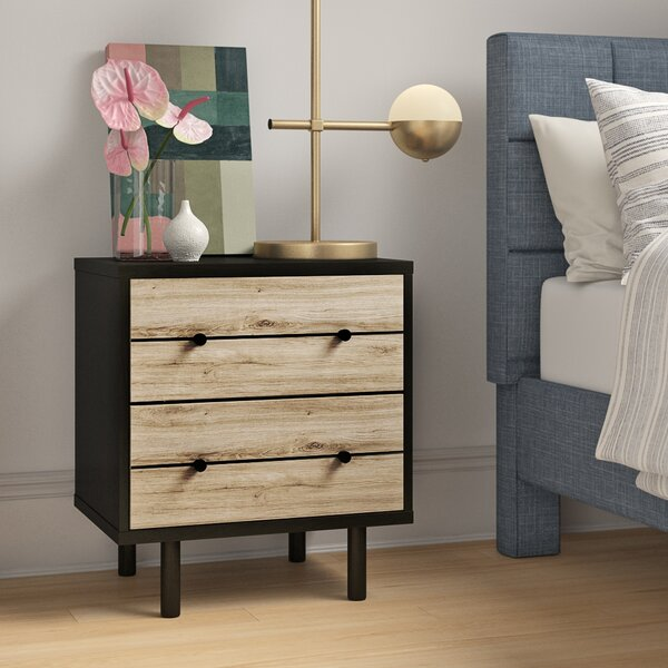 Athena 2 Drawer Nightstand by Foundstone Foundstone