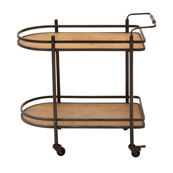 Mobile Bar Cart By EC World Imports #2